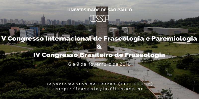 V Congresso Internacional de Fraseologia e Paremiologia